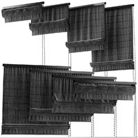 blinds black 3d model