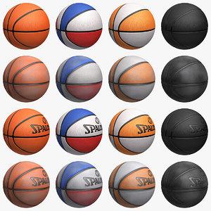 basketball set 3d max