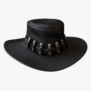 cowboy hat 3d c4d