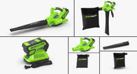 Leaf Blower Vacuum DigiPro G-MAX 40V GreenWorks Collection