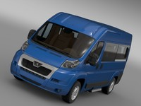 peugeot boxer window van c4d