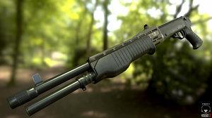 shotgun pump action 3ds