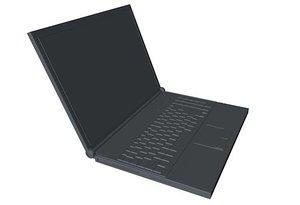 laptop dae obj