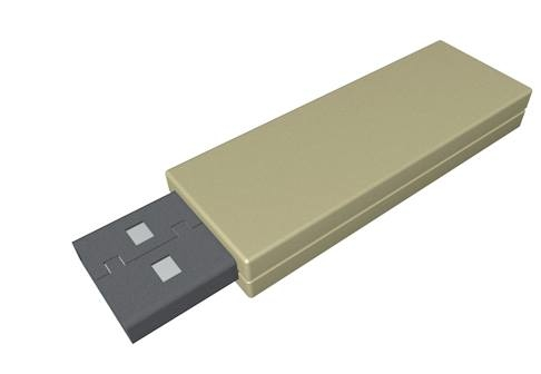 usb flash drive c4d