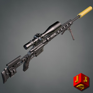 3d model xm2010 remington