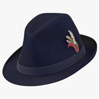 fedora hat 2 blue max