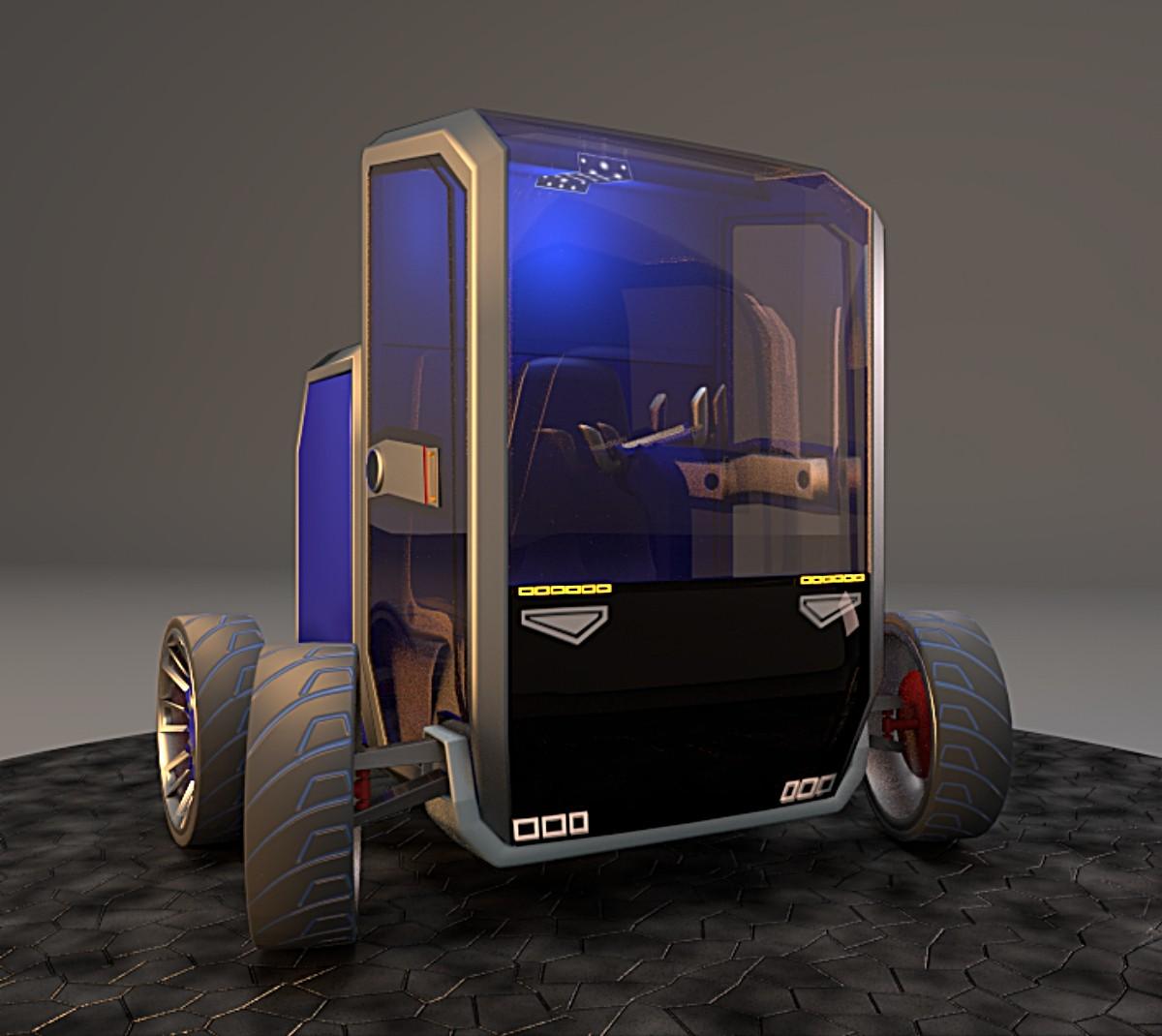 3d 3ds commuter tyres interior