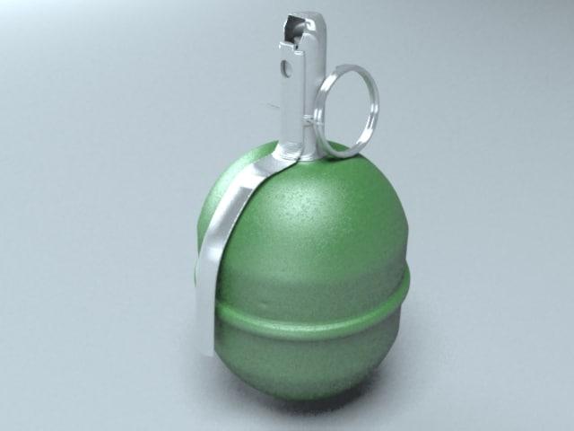 3d model pomegranate rgd-5