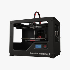 makerbot replicator 2 3d model