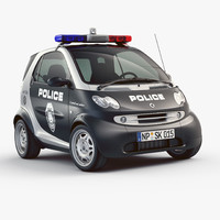 Smart Fortwo City Police