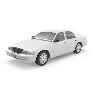 crown victoria 3d model