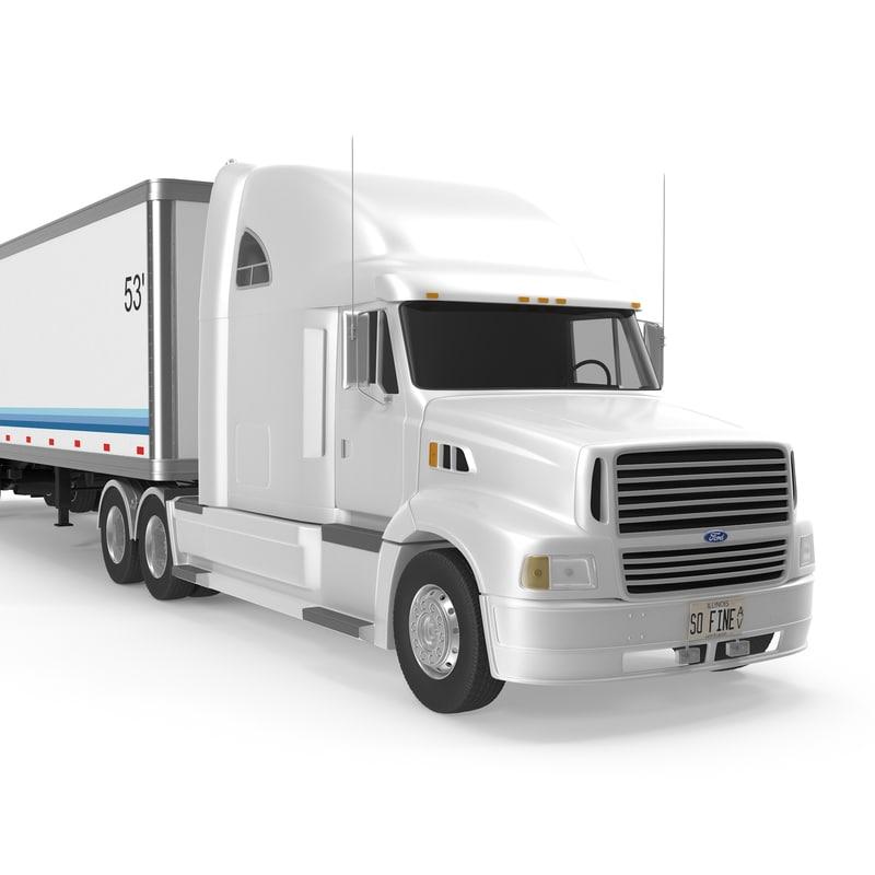 3d sterling trailer model