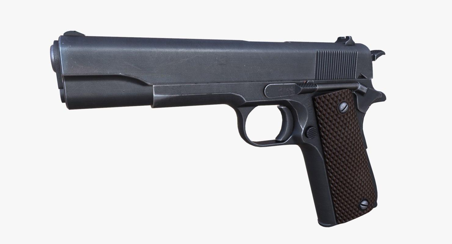 3d m1911 pistol