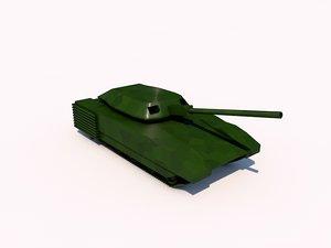 armata t-15 tank 3d model