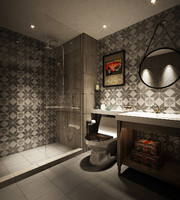 British style bathroom