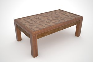 coffee table abcd dwg free