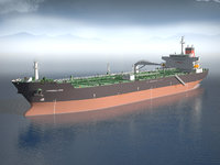 Oil Tanker Ship Evergreen State