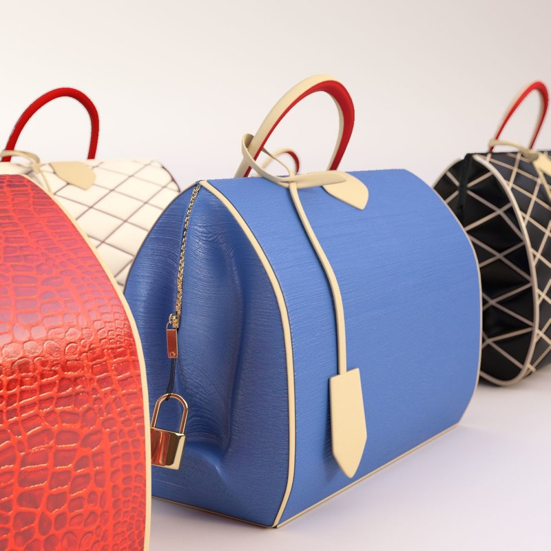 3ds max louis vuitton bag 2015