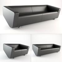3d nurus sofa model
