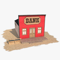 3ds max wild west bank