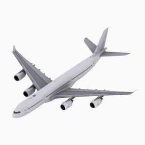 max a340-500 simulations aircraft