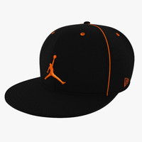 3d model baseball cap air jordan