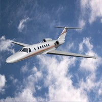 Cessna Citation CJ3 business jet