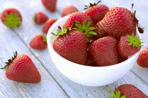 3d strawberries fruits model