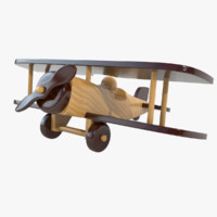 Wooden Airplane 01