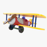 Wooden Airplane 02