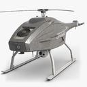 observation helicopter 3D models