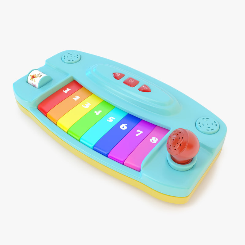 cinema4d toy piano