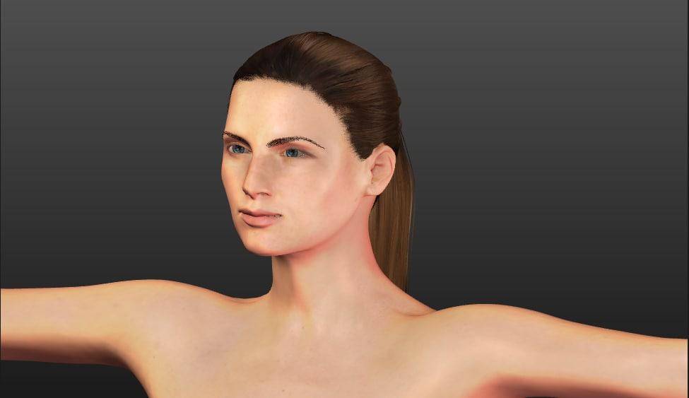 female polys 3d 3ds