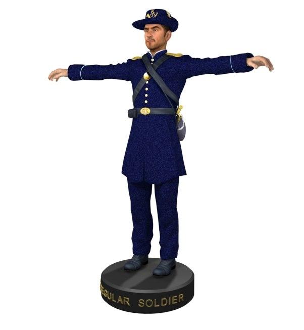 civil war soldier u s 3ds