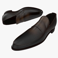 Man Shoes 4 3D Model