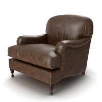 3d model of eichholtz chair highbury