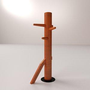 wooden dummy 3d model