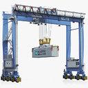 Rubber-Tyred Gantry Crane Terex