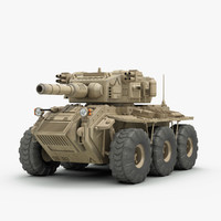 concept fighting vehicle 3ds