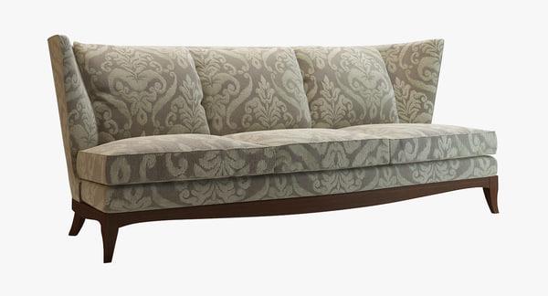 3ds geneva sofa donghia