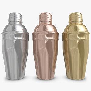 cocktail shaker d model