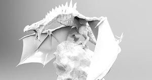 dragon skyrim obj