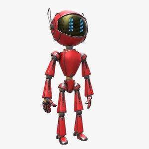 3d model robot market