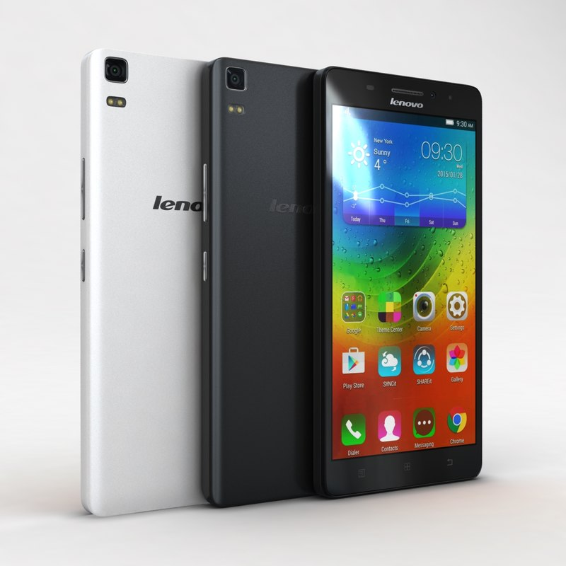 3ds max lenovo a7000 black white
