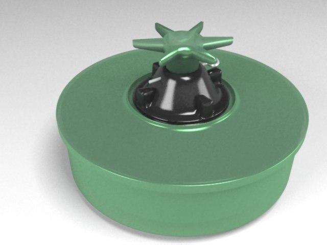 antipersonnel mines 3d max