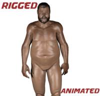 3d fat male