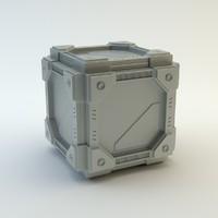 Sci-fi cube