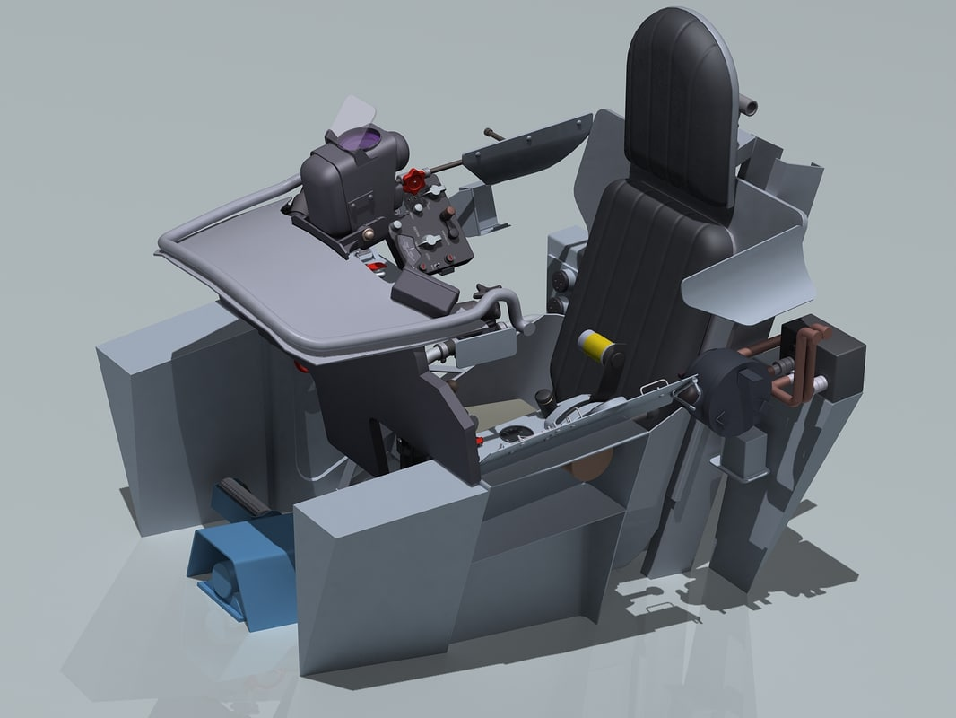 mig-15 cockpit max