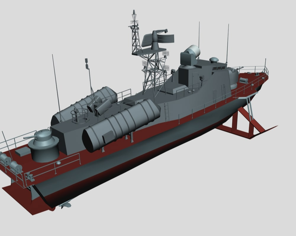 missile boat project 206mr 3ds