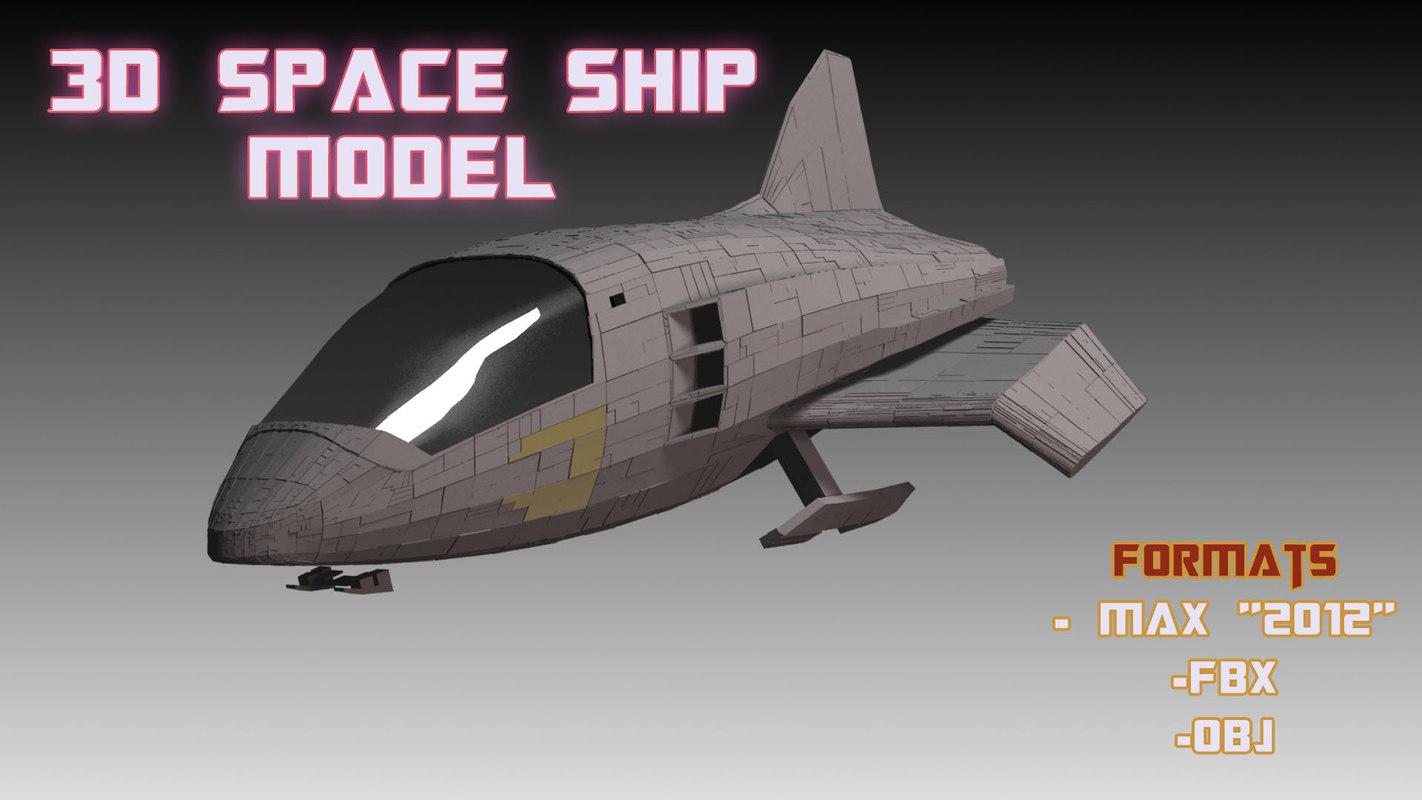 free max mode sci-fi spaceship